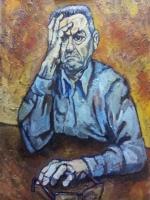 Autoritratto (2013) - Olio su tela 50x70