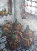 Cantina - olio su tela 80x60