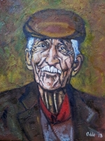 Beppino (2013) olio su tela 40x50